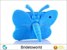 Best design cover with butterfly 3d effect case for ipad 2 3 4