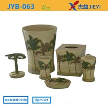 on sale summer series coconut palm bathroom accessories clearance