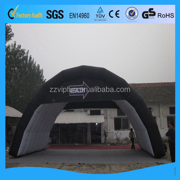 Super quality cheapest tunnel inflatable tent