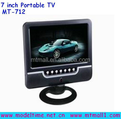 7 inch Super Slim LCD TV Best Selling portable TV