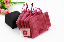 Great for weddings wholesale jewelry velvet gift pouchs jute bag jewelry bag velvet gift paper bag