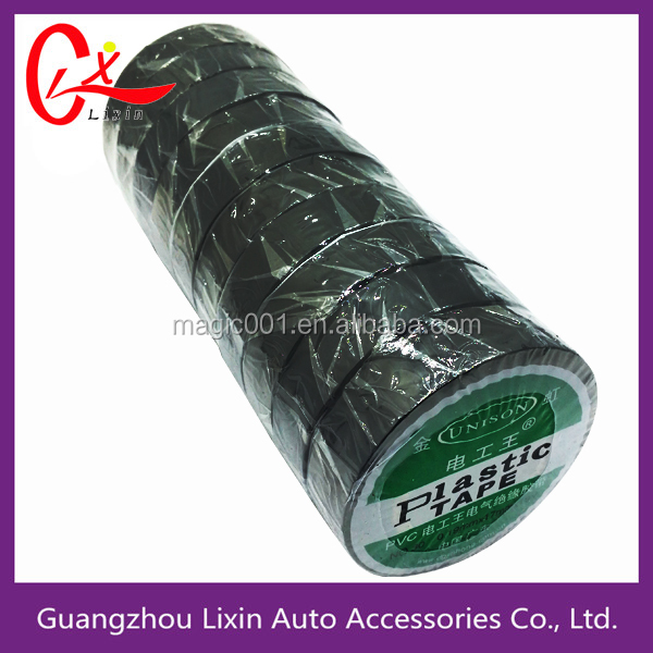 insulation electric adhesive black pvc electrical tape