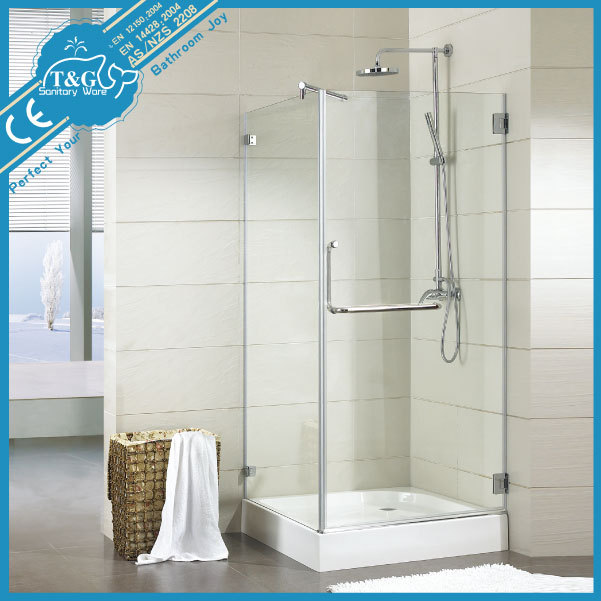 New Style fashion modern frameless shower screen