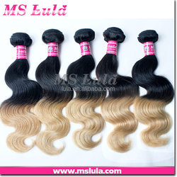 virgin human hair cheap human hair bundles OEM service two tone micro braiding hair