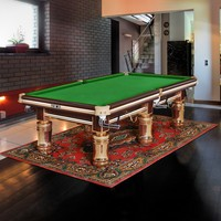 Shenzhen Sport facotry Elegent billiard table with slate 9ft