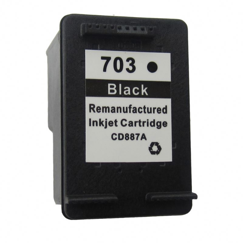 Sepcial price printers compatible ink cartridge for HP 703 BK CD887AA