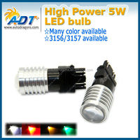 Factory price high quality 5w CR.EE led light bulbs 3157 white astigmatism led lighting brake light auto car accessories