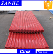 China-made corrugated galvanized wall/roofing steel sheets pile for sale