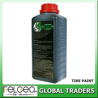 black paint for rubber tire concentrate