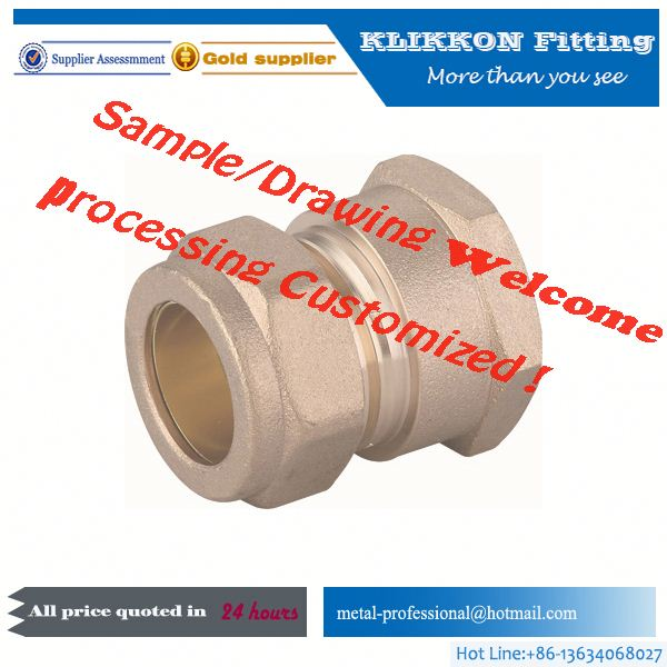 brass tee joint pipe tube pipe fittings