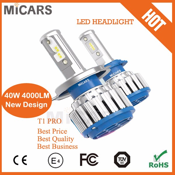 Led car parts conversion kit for 9005 9006 H4 headlight car accessories