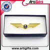 Custom cheap metal uae national day wing gold lapel pin