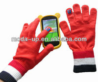 2013 fashion Iphone/Ipad touch screen gloves