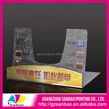 New Product!! Wholesale 2MM PET PVC Palstic Supermarket Shelf Talker for Display