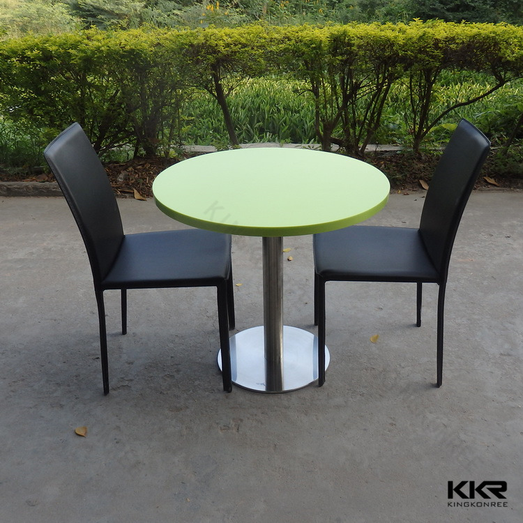 Artificial Stone Round Cafe Talbe Two Seater Round Dining Table Buy Round