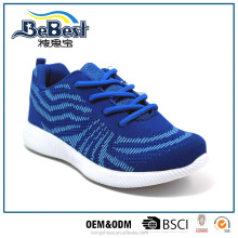 2017 woven fabric children sneakers kids sports shoes