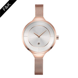 China supplier fashion mesh band watches ladies