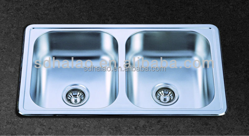 used commercial stainless steel sinks(HQ-9569T)