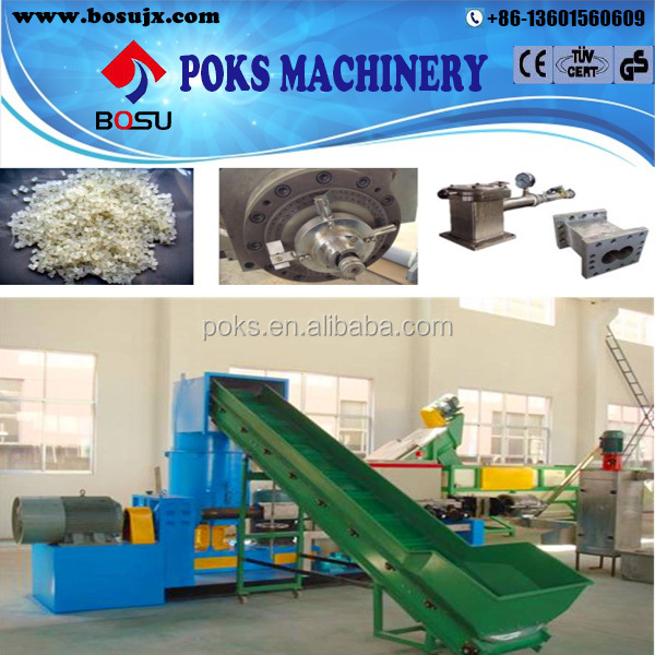 waste plastic film granulation machine