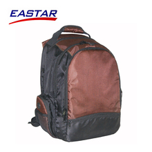 Factory wholesale waterproof big zipper computer backpack with many pockets