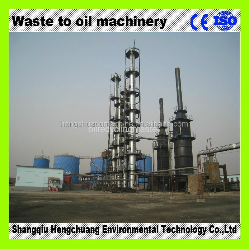crude oil distillation equipment with 85% diesel oil output