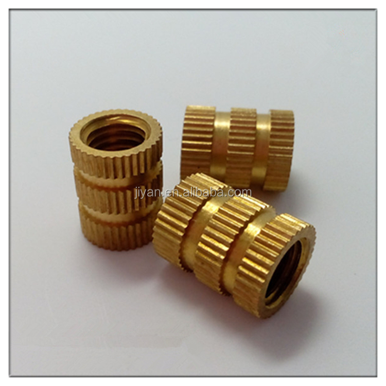OEM various kinds of diamond knurled metric brass nuts insert nuts