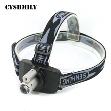 CYSHMILY 3W LED+ 1mw red laser led dual light fishing light rechargeable led light most powerful headlamp