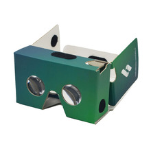 High quality custom virtual reality 3d vr glasses, ABS plastic cardboard vr 3d box glasses for Apple IOS, Android