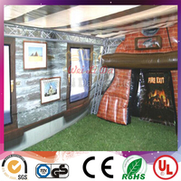 High quality large outddor inflatable pub tent cheap inflatable house tent for sale