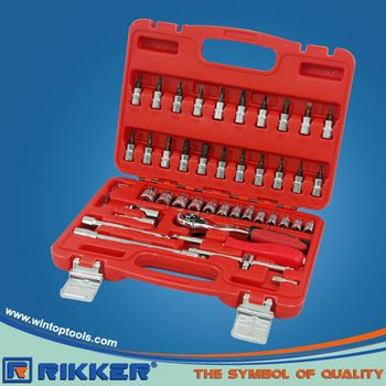 46PCS 1/4''DR.SOCKET WRENCH SET