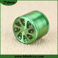 Factory Price New Arrival Manual Grinder Weed 4 part CNC Aluminum Herb Grinder