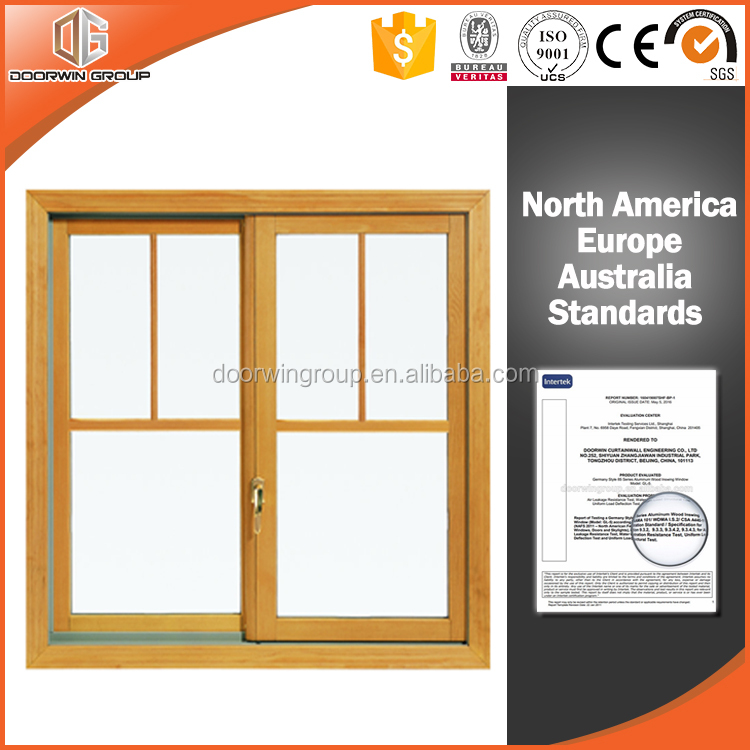 New design timber aluminum window grill design style double sliding door window designs