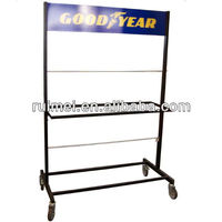 Removable Tire Display Rack