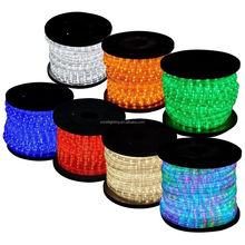 <strong>RGB</strong> 150 Ft 2 Wires Flexible LED Rope Light 1/2&quot;