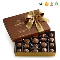 Galaxy Luxury Merci Chocolate Gift Packaging Box With lid