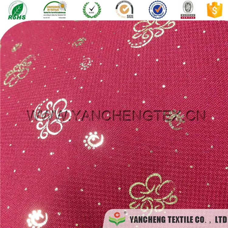 Girl dress gilding fabric,young lady dress gilding fabric