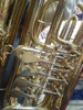brass body gold surface 4 key bb tone Rotary tuba at competitive price