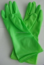 Latex Household Rubber Gloves Flock/Cotton Lined/Unlined Latex Rubber Hand Gloves