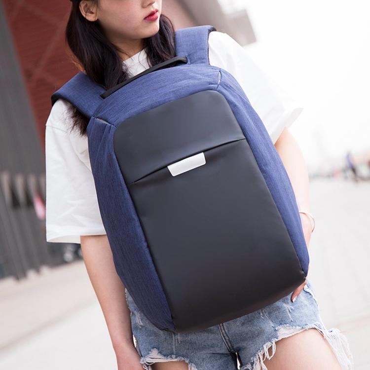 Diy japonais étudiant respectueux de l'environnement fermeture éclair cachée kaki toile sac à dos pour pc