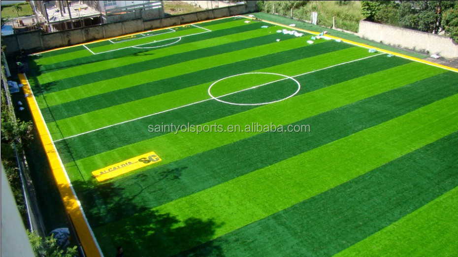 Professional 60mm artificial grass for soccer pitch