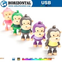 kid's gift cute cartoon character usb flash drive 1GB to 256GB