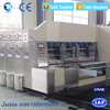 Multifunction carton printer slotter die cutter type automatic packaging line machine