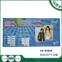 cheap event ticket custom entrance ticket printing