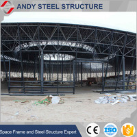 Prefabricated Steel frame roofing for steel structure gymnasium