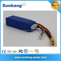 Sunb783496 11.1V 3S 2200mah 20C RC lipo Battery for RC Airplane Helicopter