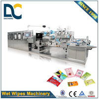 High efficiency 10pcs wet tissue packing machine, automatic wet tissue machine (5-30pcs/pack)