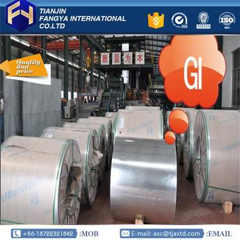 Multifunctional high strength galvanized steel coils 0.67x1200mm GL Coils made in China