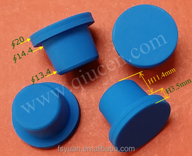 Any size and colour <strong>silicon</strong> chock plug