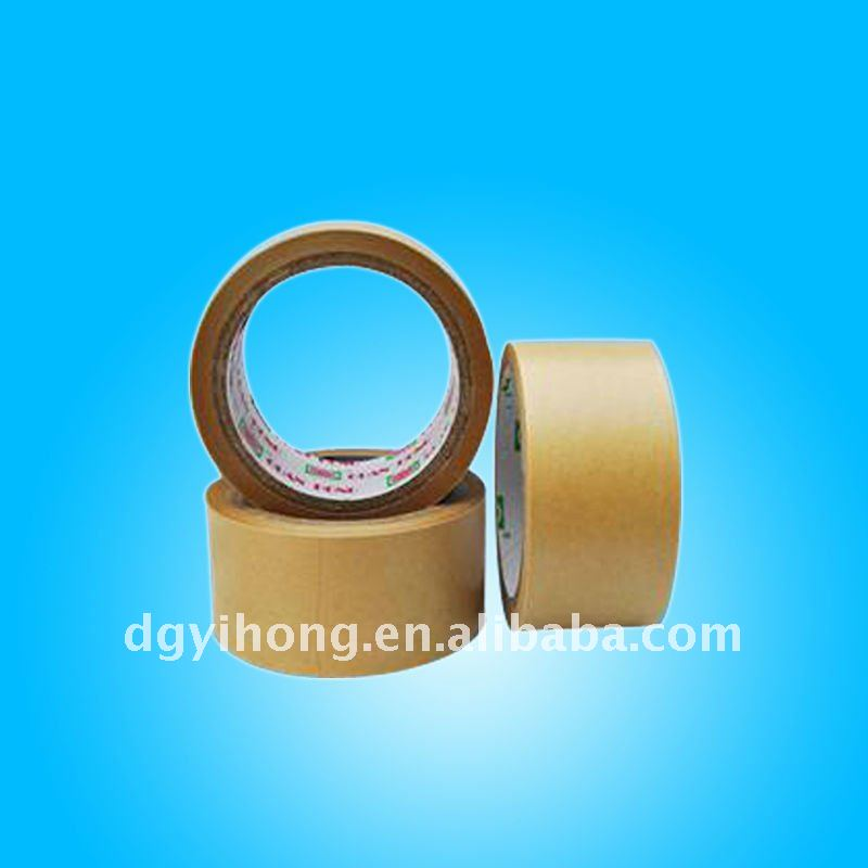 Brown water activated tape for parcel, carton sealing