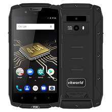 "VKWORLD VK7000 Rugged IP68 Mobile Phone Waterproof 5.2"" MTK6750T Octa Core custom android mobile phone Smartphone"